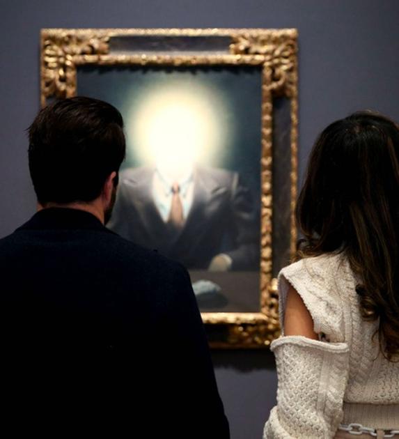 René Magritte - Le principe de plaisir (portrait d'Edward James)