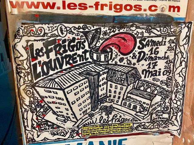 Les frigos Paris