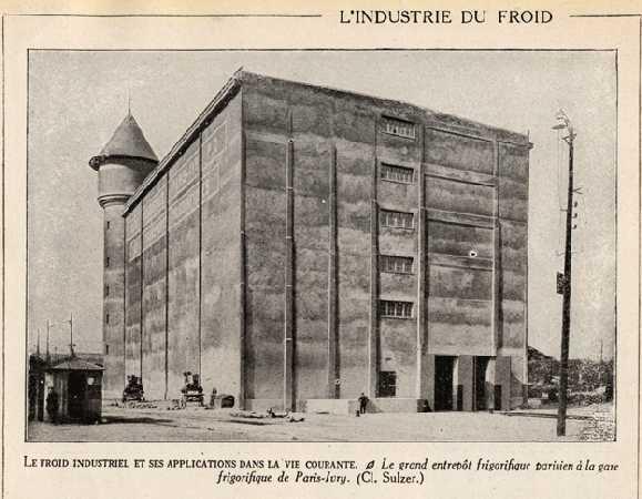 Les frigos 1921 Paris
