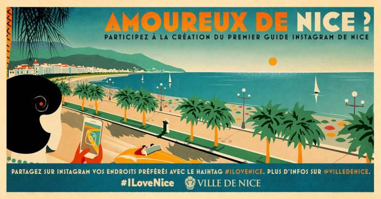 Un guide Instagram pour Nice