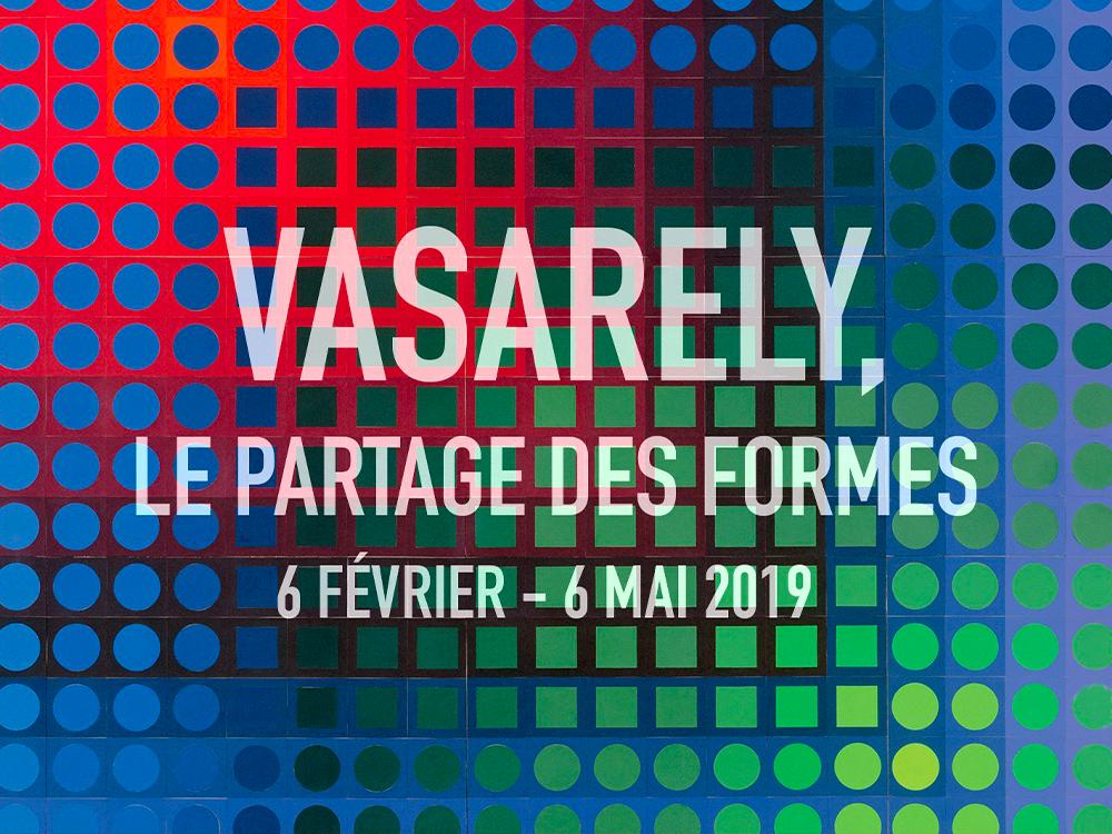 Vasarely, expo Paris 2019