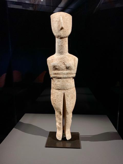 Statuette féminime / 2700 - 2300 avant J.-C.