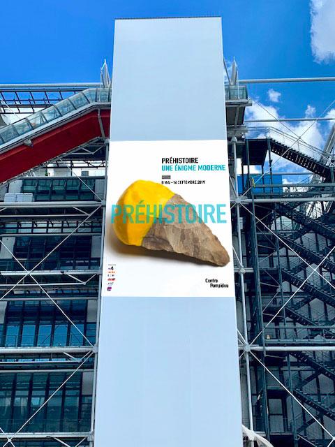 La modernité de la préhistoire au centre Pompidou