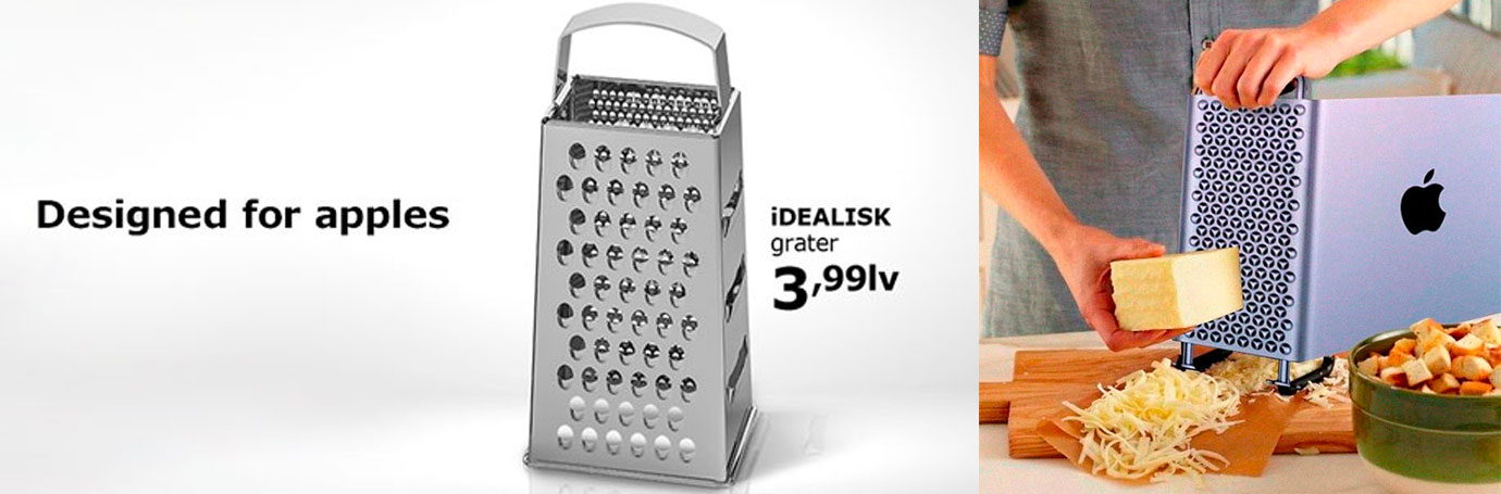 Parodie Apple par Ikea