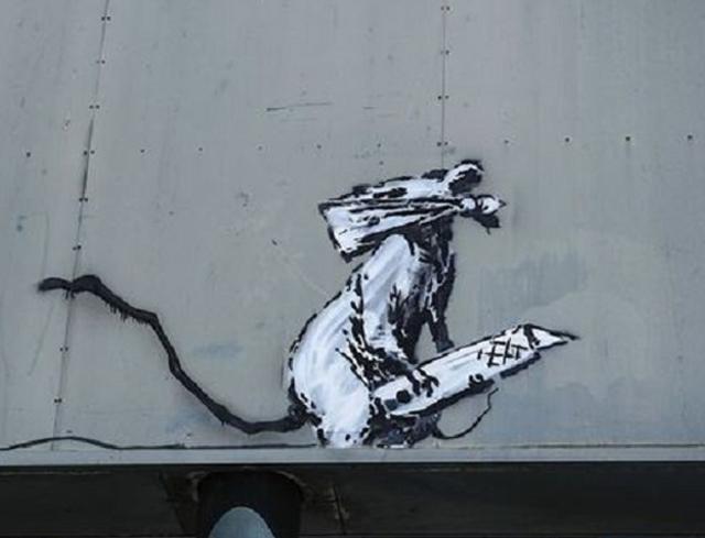 Vol d'une œuvre de Banksy à Paris