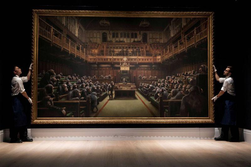 Le Parlement des Singes, de Banksy