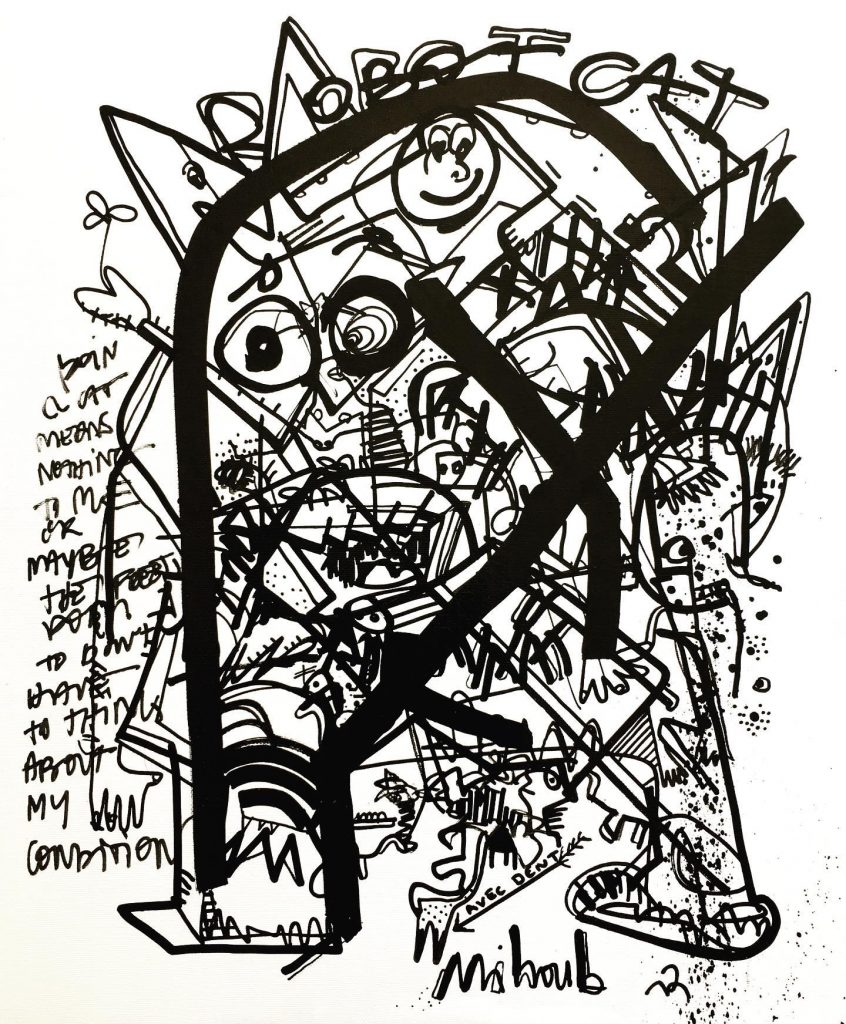 Mihoub Aouial-Drissi, le dernier coup de cœur des News Art de Netbuzz