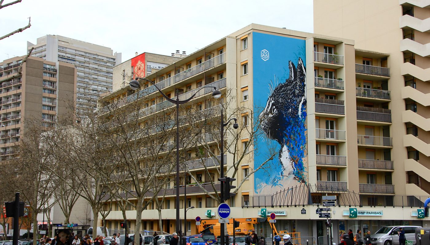 C215 - Paris street art 13 itinerrance