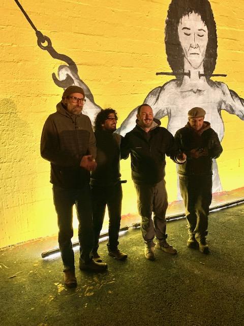 Germain Prévost aka IPIN - STF Moscato - Murad Subay - Le Mur du Fond à Marseille