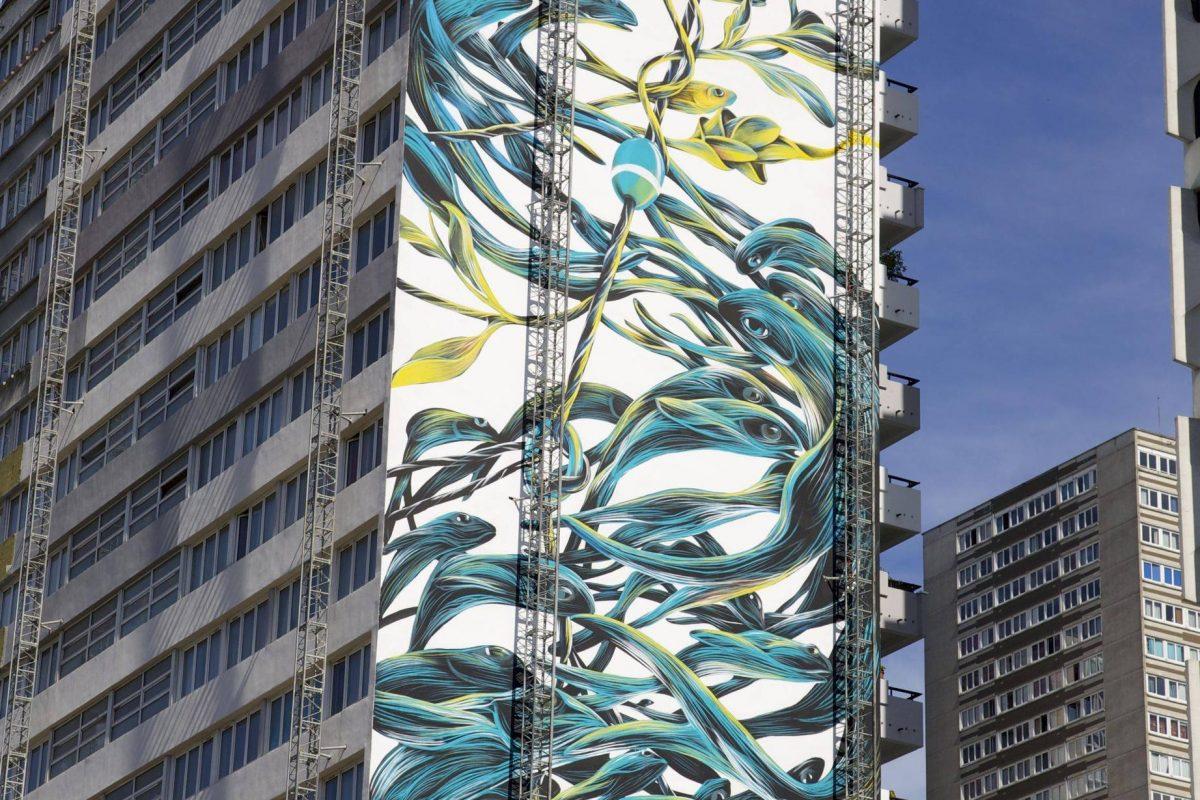 Pantónio - Paris street art 13 itinerrance
