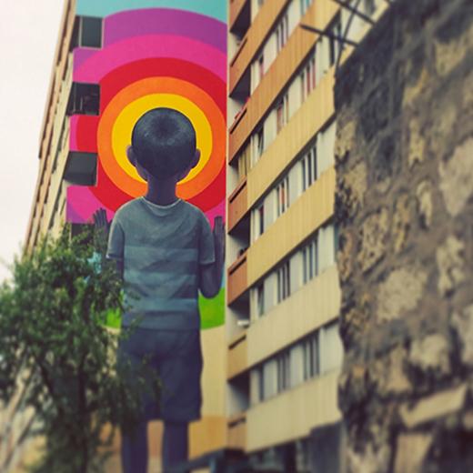 SETH - Paris street art 13 itinerrance