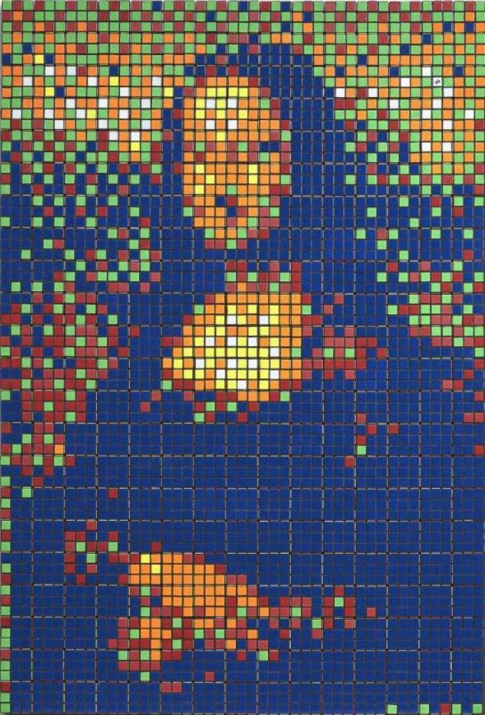 Rubik Mona Lisa d'Invader