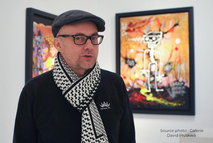 La galerie David Pluskwa présente Skunkdog, la force du passé au service d'un art contemporain