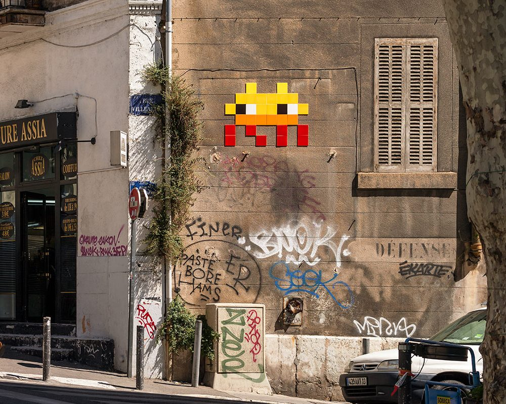 Space Invaders Marseille