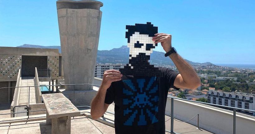 Space Invaders Marseille MaMo